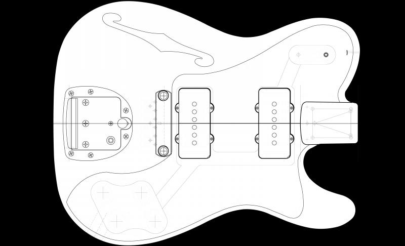 山ちゃんのギター製作記  テレデラ?ジャズマス?#0