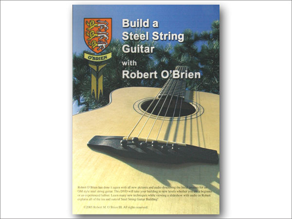BUILD A STEEL STRING GUITAR