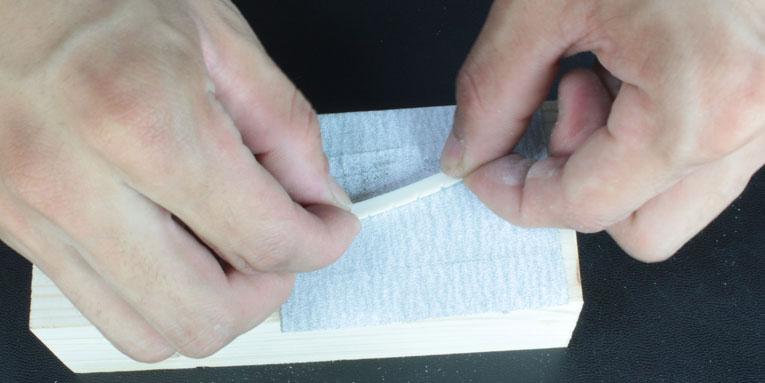 ナットの溝ほり方法