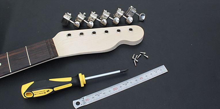 ギターペグ取り付け方法