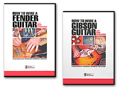 DVD HOW TO WIRE A FENDER/GIBSON GUITAR 2セット